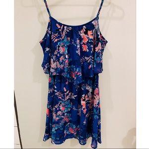 Xhilaration Sleeveless Floral Dress